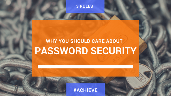 Why you should care about password security
