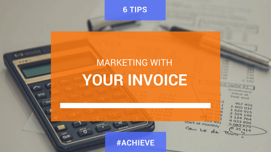 Marketing with Your Invoice