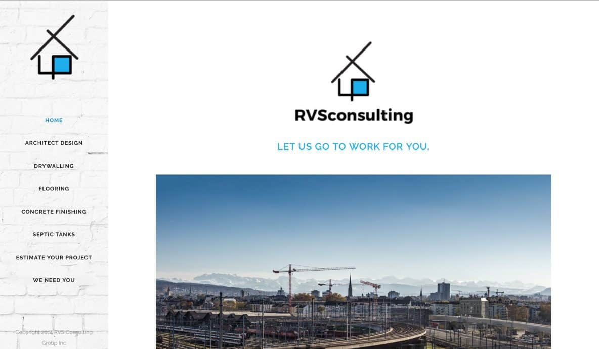RVS Consulting Logo by Achieve Online