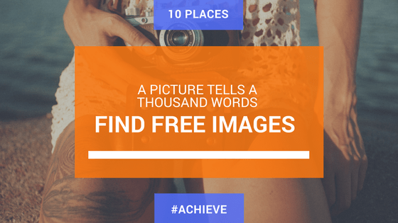 Find images for your website or social media content