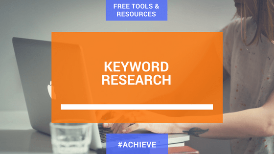Tools for effective keyword research